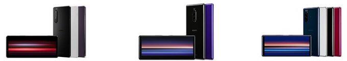 ソニー、Xperia 1 IIなど3機種のSIMフリー旗艦モデル発売