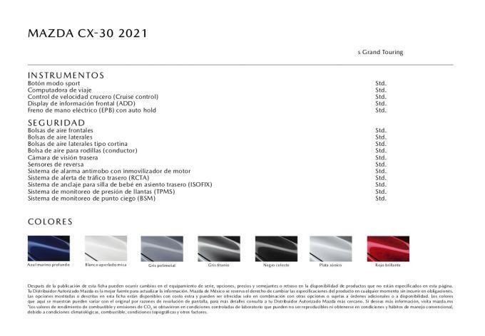 マツダメキシコ、2021 CX-30 2.5Lターボモデルを発表
