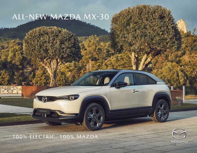 英国マツダ、MX-30 e-SKYACTIVの価格などを発表