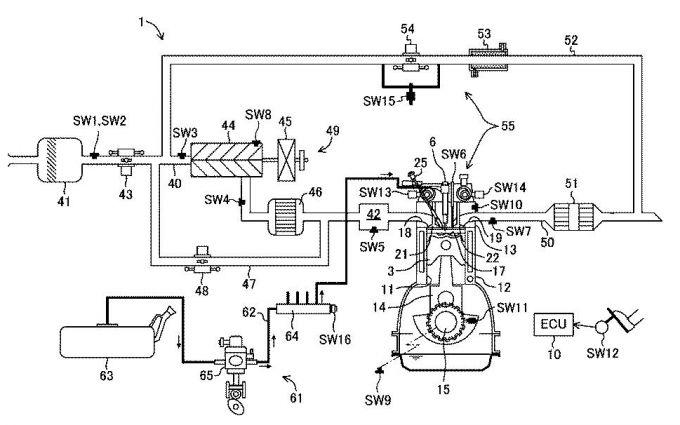 マツダ、SPCCI式エンジンに関する多数の特許を出願