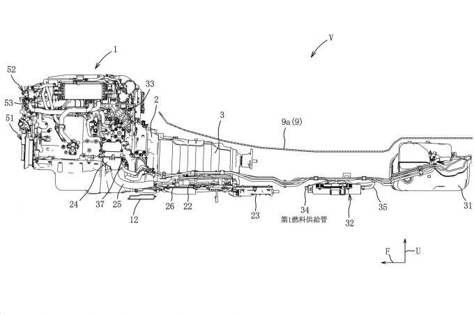 マツダ、ディーゼルHVを想定した燃料供給装置の特許を出願