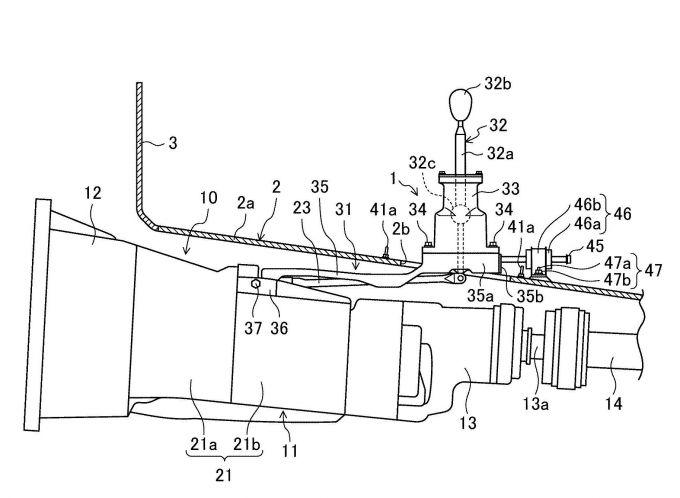マツダ、FR車をベースとする四輪駆動車に関する特許を出願