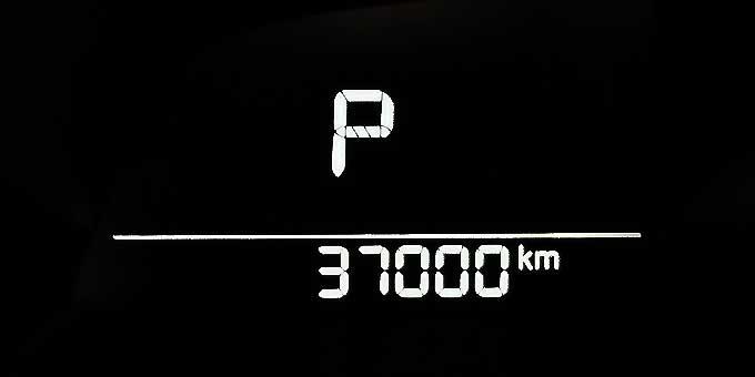 マツダ アクセラ(BM2AS)でドライブ 37000km