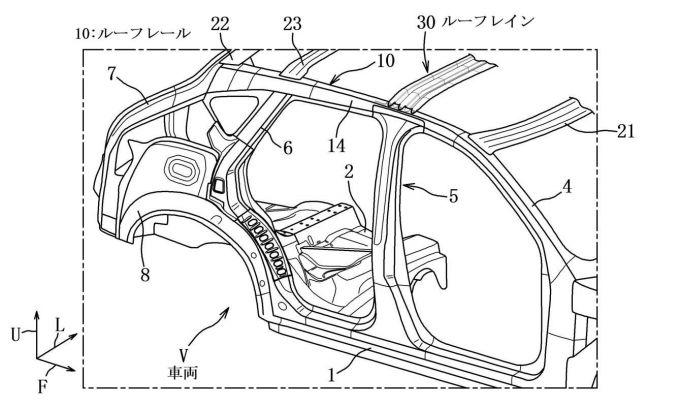 マツダ、後輪駆動車の車体構造に関する特許を出願