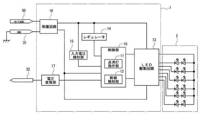 マツダ、ターンシグナルの点灯に関する特許を出願