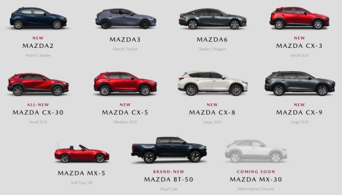 マツダ、2021年2月のオーストラリア市場で前年比15.1%増加