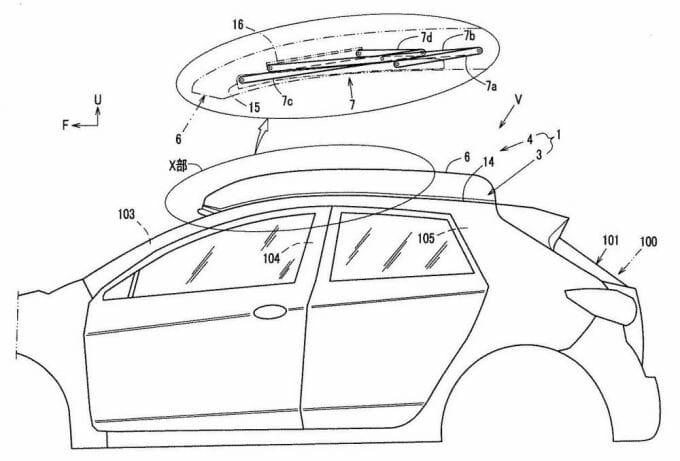 [特許]マツダ、ポップアップルーフの特許を取得