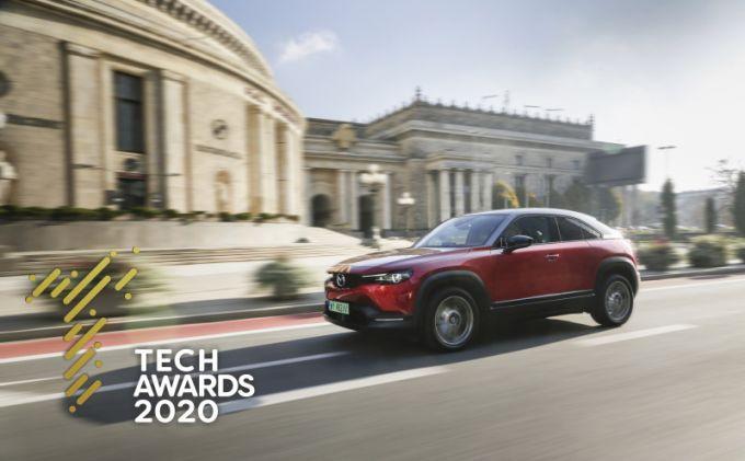 マツダMX-30、ポーランドで最高の電気自動車に選ばれる