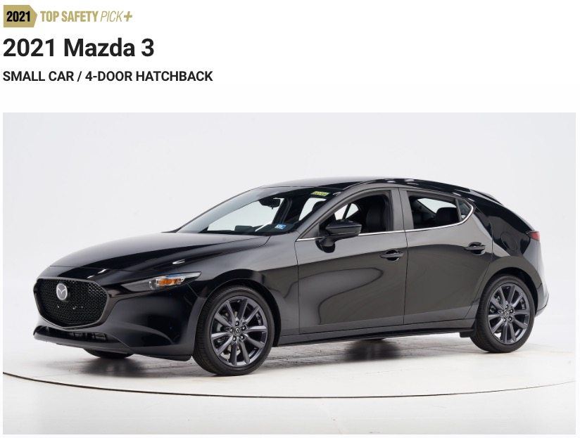 マツダ7車種が2021トップセーフティピック+を獲得