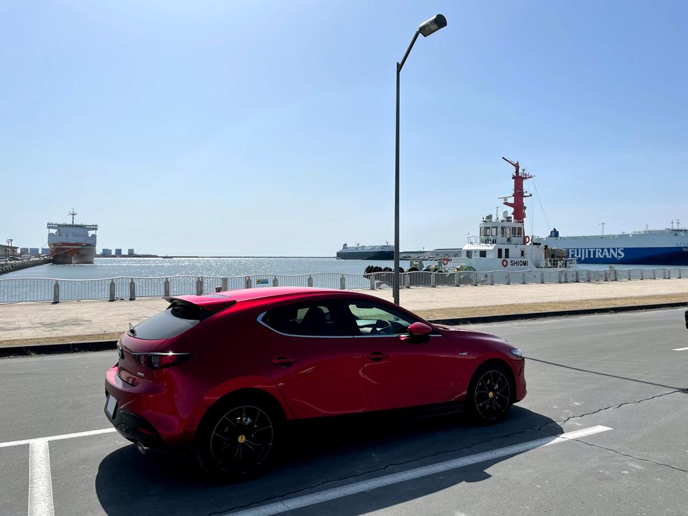 Mazda3(BPEP SPIRIT 1.1)でドライブ 2000km到達