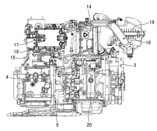 マツダ、REレンジエクステンダーEVのバッテリー保護構造の特許を出願