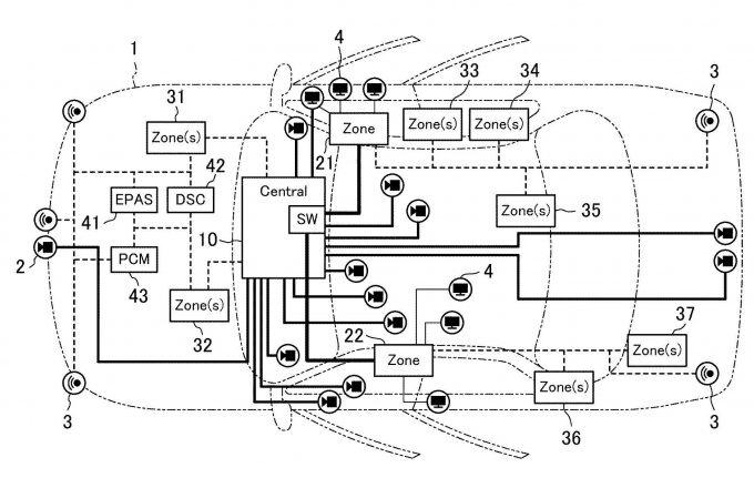 マツダ、トヨタと共同で自動運転用ECUの特許を出願
