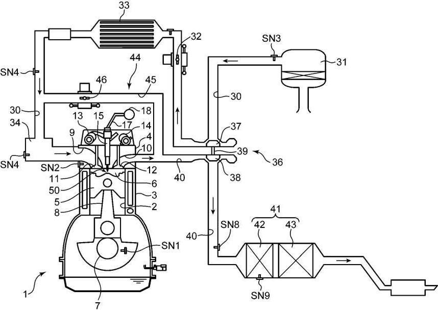 マツダ、アフター噴射により煤を抑制するDEの制御装置の特許出願