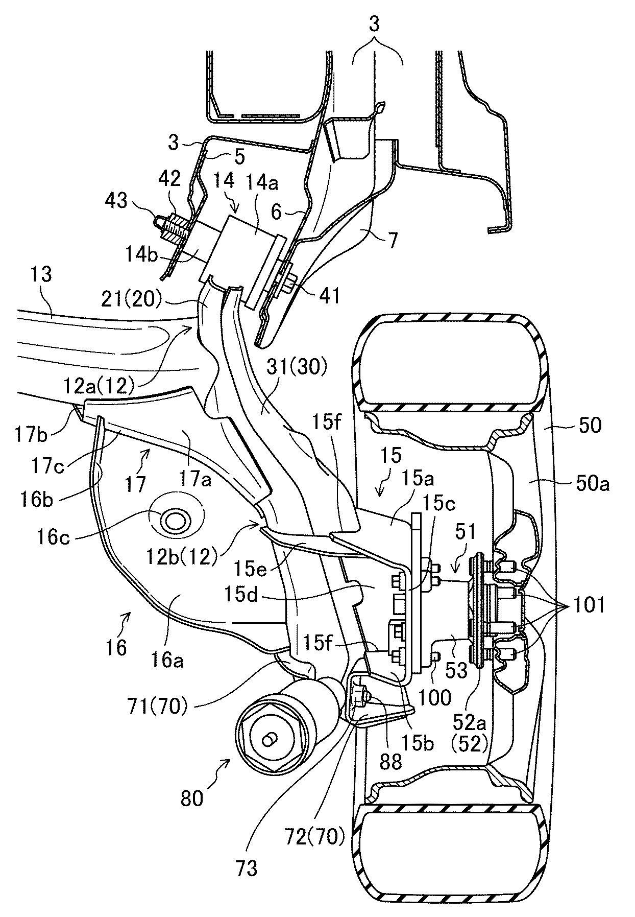 マツダ、トーションビーム式サスペンション構造で特許取得