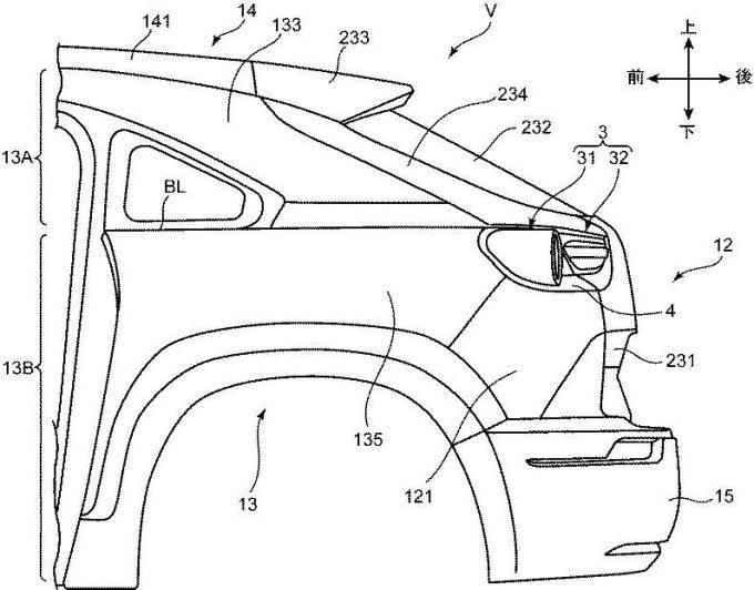マツダ、走行抵抗を低減可能なMX-30の車両構造で特許を出願
