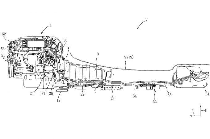 マツダ、6気筒ディーゼルハイブリッドの燃料供給装置に関する特許を出願
