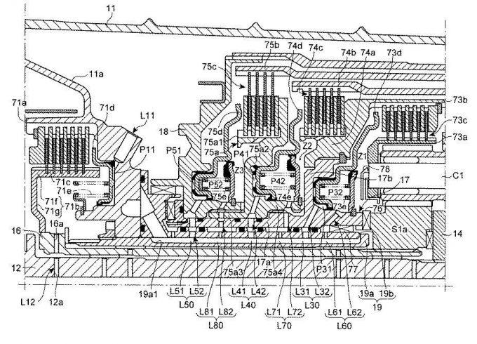 マツダ、8速ATを想定した自動変速機の潤滑制御装置に関する特許を出願