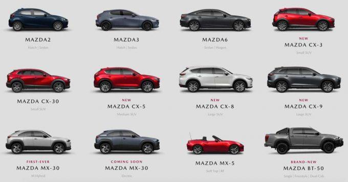 マツダ、2021年4月のオーストラリア市場で前年同月比232.6%