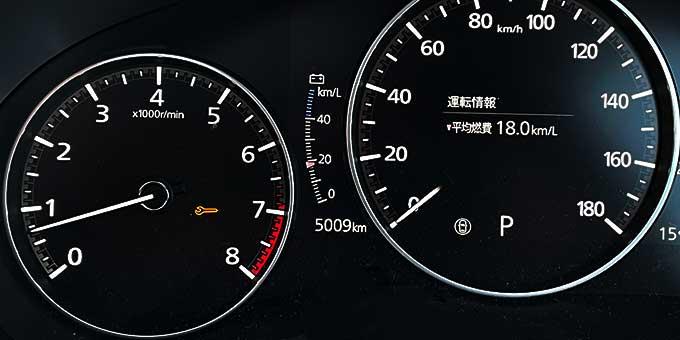 Mazda3(BPEP SPIRIT 1.1)でドライブ 5000km到達