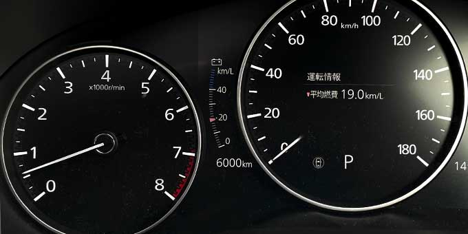 Mazda3(BPEP SPIRIT 1.1)でドライブ 6000km到達