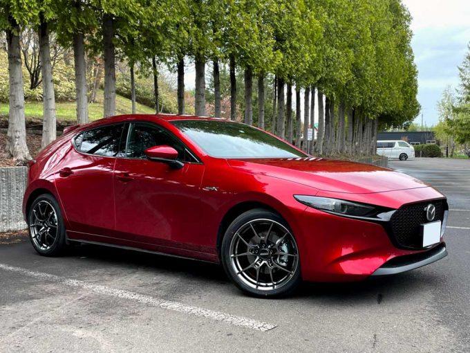 Mazda3 & VOLK RACING G025
