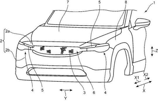 [特許]マツダ、MX-30の前部構造に関する特許を複数出願