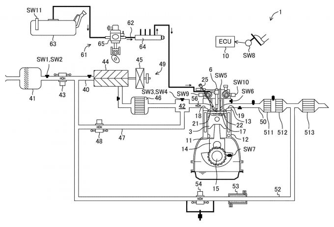 マツダ、給油後のオクタン価の把握に関する特許を出願