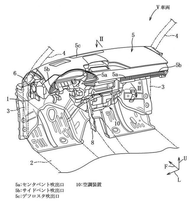 [特許]マツダ、空調ダクト取付構造に関する特許を取得