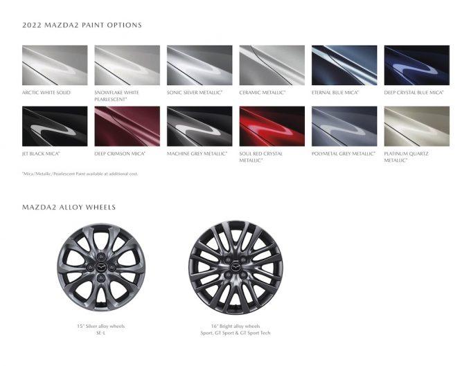 英国マツダ、2022 Mazda2を発表。SKY-G 1.5をスペックUP