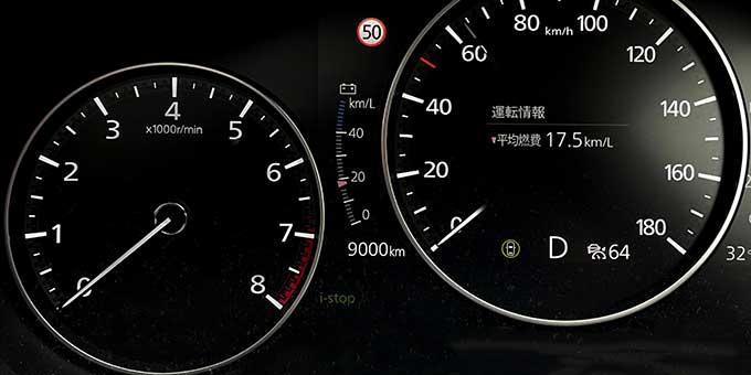 Mazda3(BPEP SPIRIT 1.1)でドライブ 9000km到達