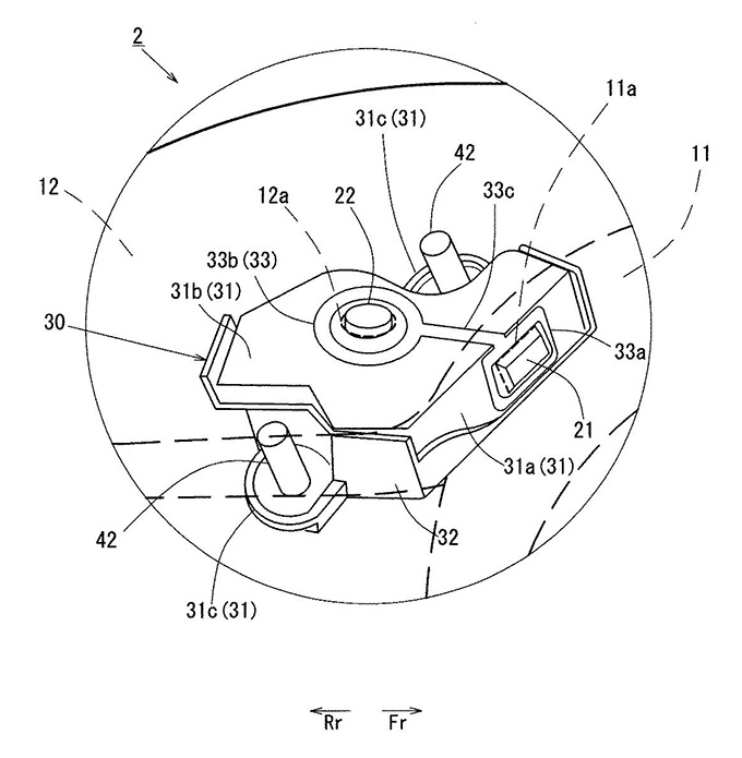 マツダ、MX-30 を想定した充電ボックス構造などで特許出願