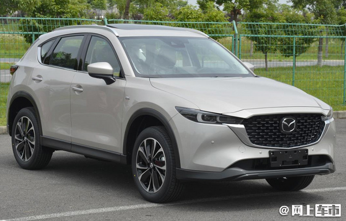 新型CX-5と見られる画像が中国から漏出