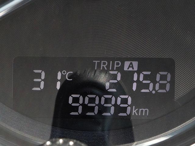 直前の9,999kmも撮ってました