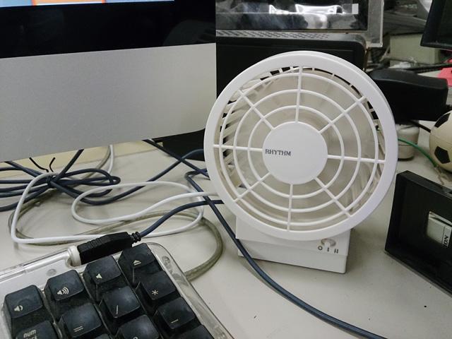 二重反転式扇風機